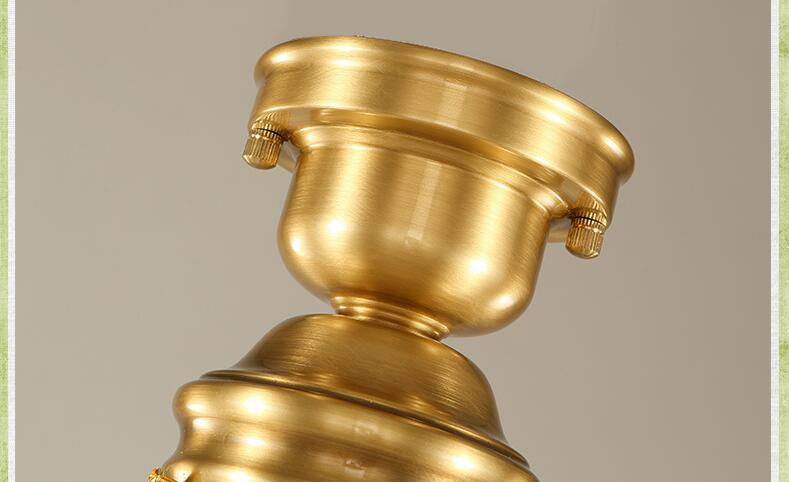 American Copper Plafon Retro Vintage stropní světlo pro domácí - Vnitřní osvětlení - Fotografie 6
