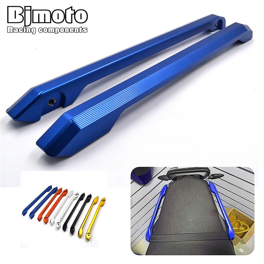 BJMOTO MT 09 FZ 09 CNC Rear Passenger Pillion Seat Hand Handle Grab Bar Rail For Yamaha MT-09 FZ-09 MT09 FZ09 2014-2016