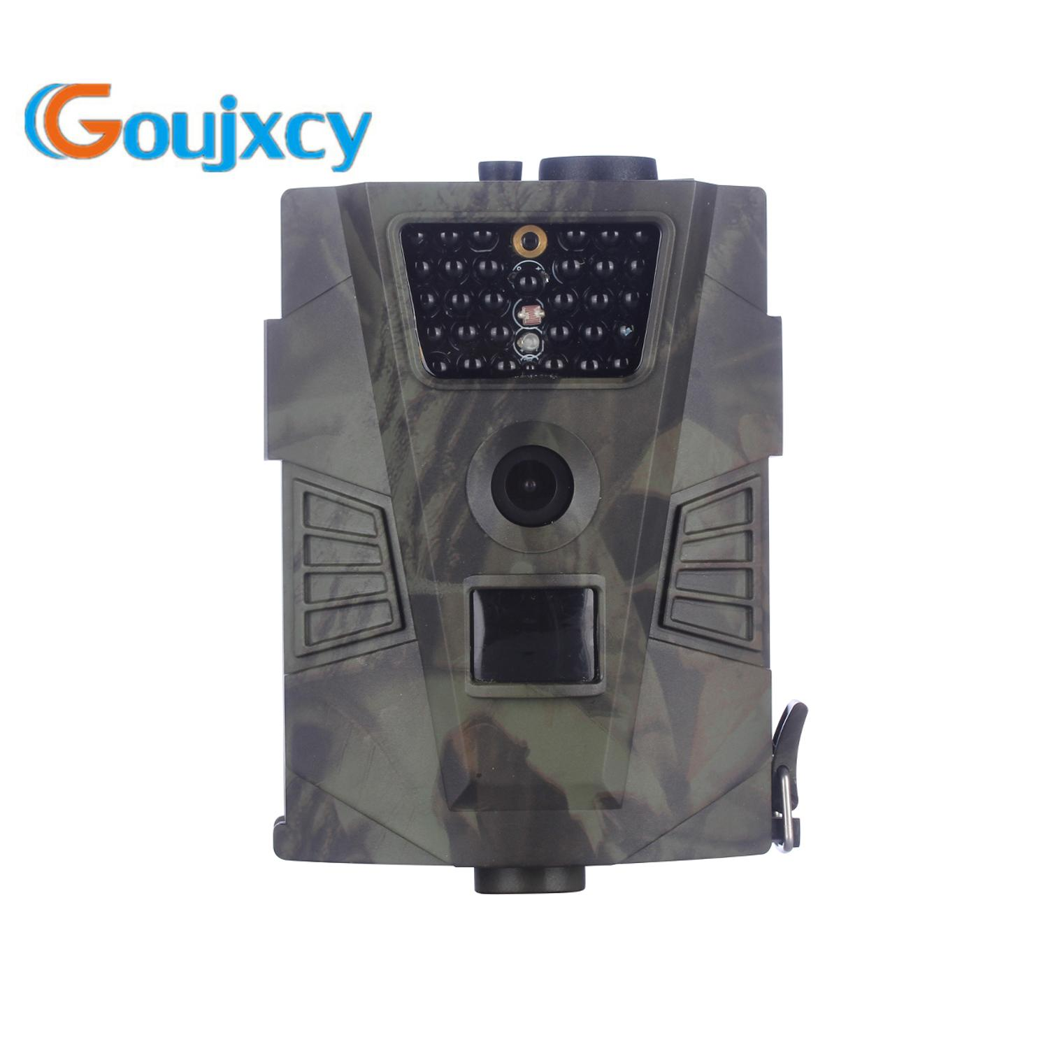 HT 001 Trail camera Waterproof Hunting camera With remote control night vision 12MP HD video photo traps scout wildlife cameras in Hunting Cameras from Sports Entertainment