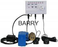 Water Leakage Detector Alarm Monitor Tester Flow Meter Sensor Water Overflowing Water Saver DN15 G1/2 Double Valves