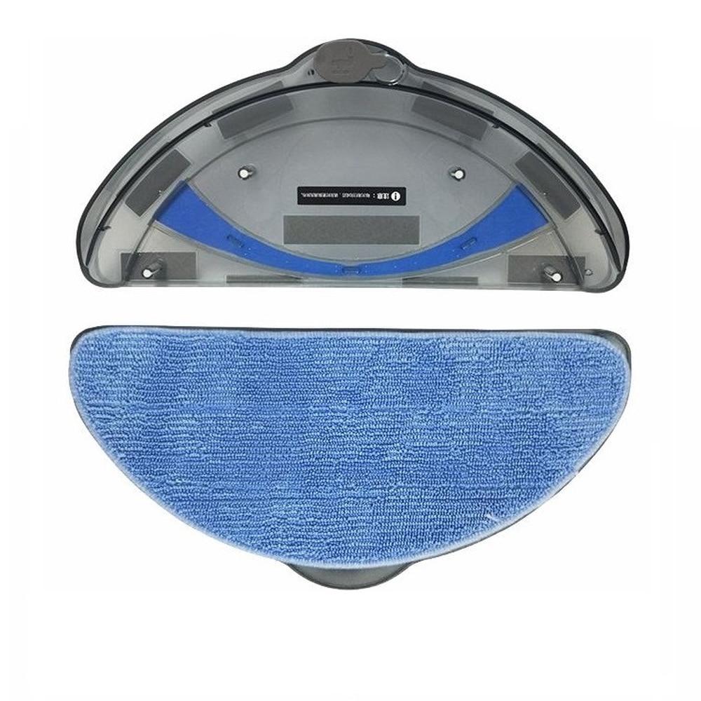 1*Original Water Tank +3* cloth for panda X500 Dibea X500 X580 ECOVACS CR120 CEN540 CEN546 Robot Vacuum Cleaner Parts цена