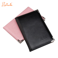 Top Quality Russian Auto Driver License Bag PU Leather On Cover For Car Driving Documents Card