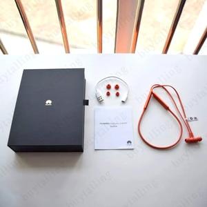 Image 4 - سماعة أذن رياضية أصلية 100% من هواوي فريليس سماعة بلوتوث 5.0 لاسلكية كابل ذاكرة تجويف معدني مفتاح مغناطيسي سائل