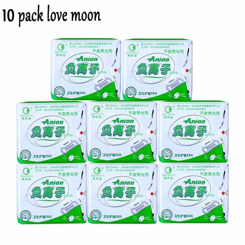 10 pack anion winalite love moon anion pads winalite women strip anion love moon brand panty