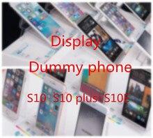 Высокое качество 1:1 игрушка Манекен Модель для samsung S10 поддельные муляж телефона модели только для Дисплей S10 lite S10 плюс S10E нерабочий