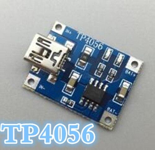 TP4056 5 В 1A lipo Батарея зарядки доска литиевая батарея Зарядное устройство Модуль DIY Mini USB Порты и разъёмы скидка 30%