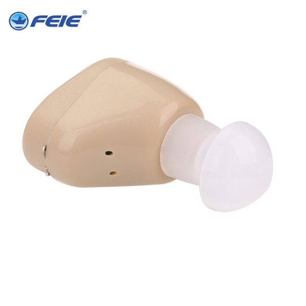 hot and new item!! In the ear amplifier S-219  mini hearing aid rechargeable for helping deafness Drop shipping