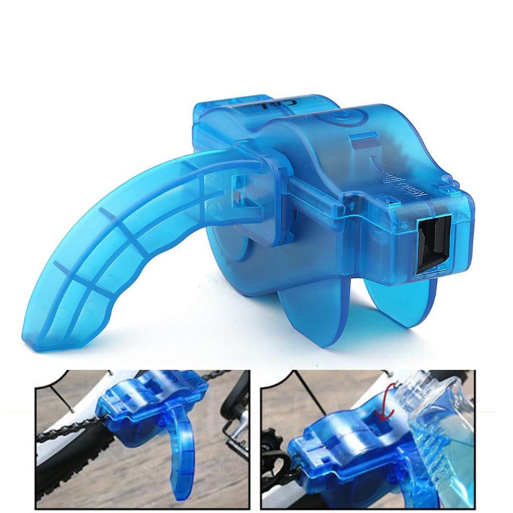 WOSAWE Bicycle Chain Cleaner Bike Cycling Repair Tool Kits Brushes Scrubber Set Machine MTB Mountain Road Bike Wheel Washer