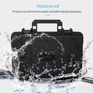 Image 2 - Orico 3.5 Inch 20 Bay Hdd Harde Schijf Externe Protection Storage Case Box Portable Multi Bay Water \ Stof \ shock Proof