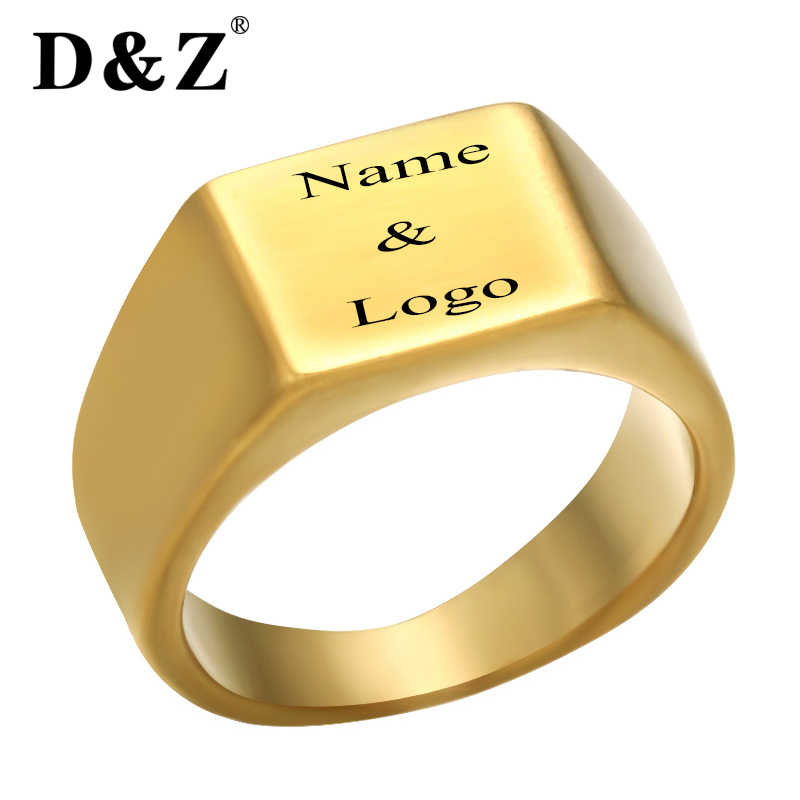 Detail Feedback Questions About D Z Trendy Smooth Custom Engraved