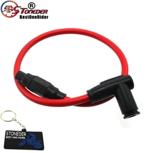 Ignition-Coil Motor-Bike Power-Cable Racing Red STONEDER for ATV Quad-Dirt-Pit Trail