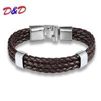 Прямой хан издание мода тканые кожаный браслет простой мужской кожаный браслет обязуется интимные аксессуары Оптовая продажа