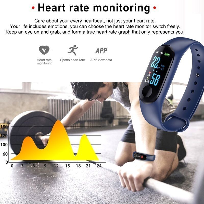 New Smart Heart Rate Monitor, Pedometer 13