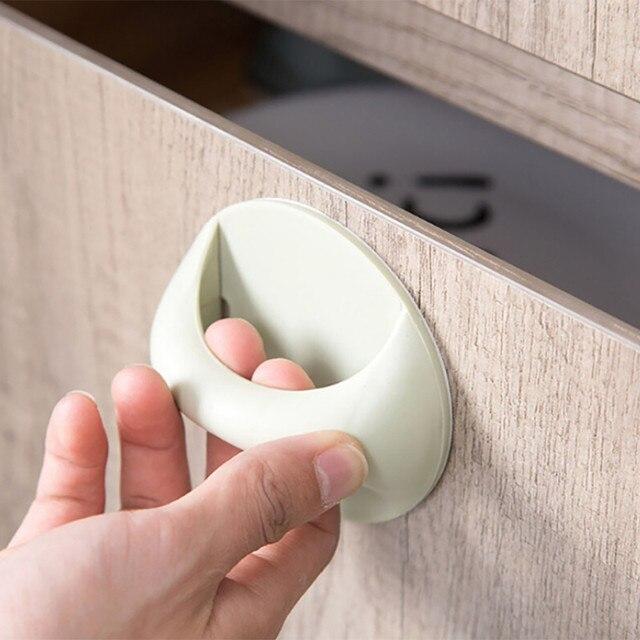 Wielofunkcyjne plastikowe meble uchwyt drzwi łazienka akcesoria kuchenne Dropshipping D30 Apr6