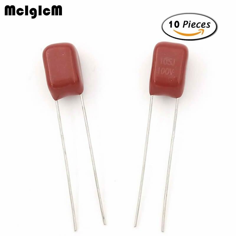20PCS 100V 104J 100NF 0.1uf Correction capacitors NEW CK
