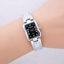 New 2016 Fashion Casual Clock Silver Bracelet Watch Women Rhinestone Watches Women's elegant Quartz Wrist Watch relojes mujer