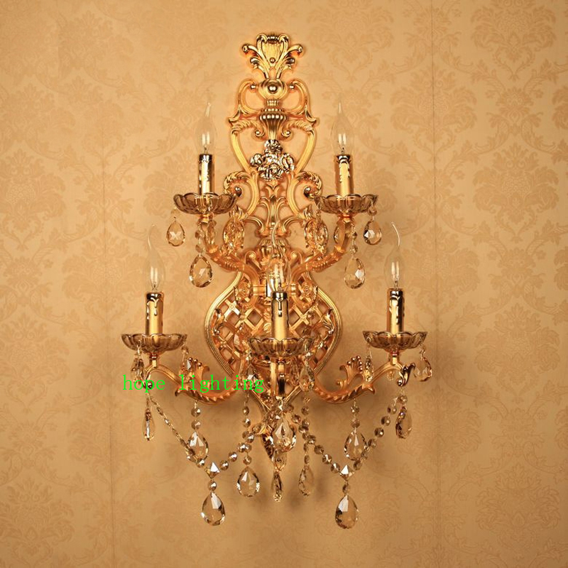 indoor wall sconces large crystal wall lamp with fabric shade vintage wall lights sconce large wall