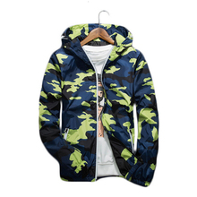 2017 Spring Autumn Camouflage Print Bomber Jacket Men Women Plus Size Hip Hop Hooded Thin Coat Windbreaker Military Jacket 5XL