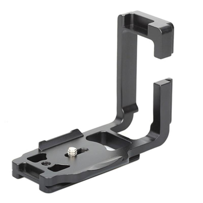 FITTEST Quick Release Plate 1/4'' Vertical Shoot L Tripod Adapter Bracket Base Holder for Canon 5D Mark IV (5D4) Metal Ballhead