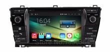 Для Toyota Corolla 2014 2013 Quad Core 1024*600 Android 5.1.1 Dvd-плеер Автомобиля GPS с BT Wi-Fi Радио