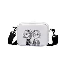 618 hot fashion Mini square bag women Shoulder Bags student girl Messenger small item Storage handbag Cartoon print Small ba