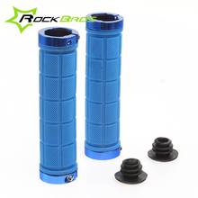 RockBros Cycling Fixed Gear Grips MTB Mountain Bike Bicycle Handlebar Soft Durable Lock on Grips Rubber