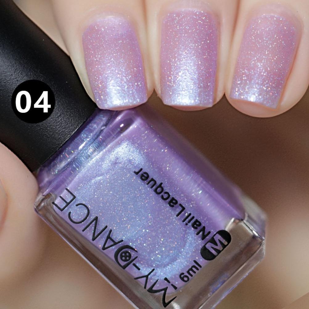 1Pc Cheap Mirror Metallic Pink Nail Polish Brand Nails