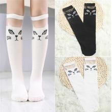 Cute Cartoon Lovely Cat Socks For Baby Girls