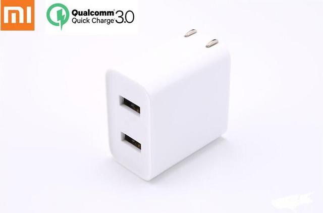 Originele Xiaomi USB Charger 2 Port Quick Charge QC3.0 18 20 W Reislader