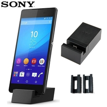 Original Sony Stand Charger Desktop Charging Dock DK52 For SONY Xperia Z3+ Z4 Z3 Neo SO-03G C5 E6553 цена 2017