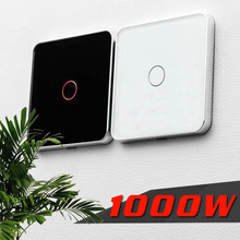 Free Shipping  Jiubei Luxury White Crystal Glass ,Wall Switch, Touch Switch, Normal 1 Gang 1 Way Switch, C701-11/12/13 switch eu standard switch wall touch switch luxury white crystal glass 1 gang 1 way switch 220v lamp touch sensor wall switch