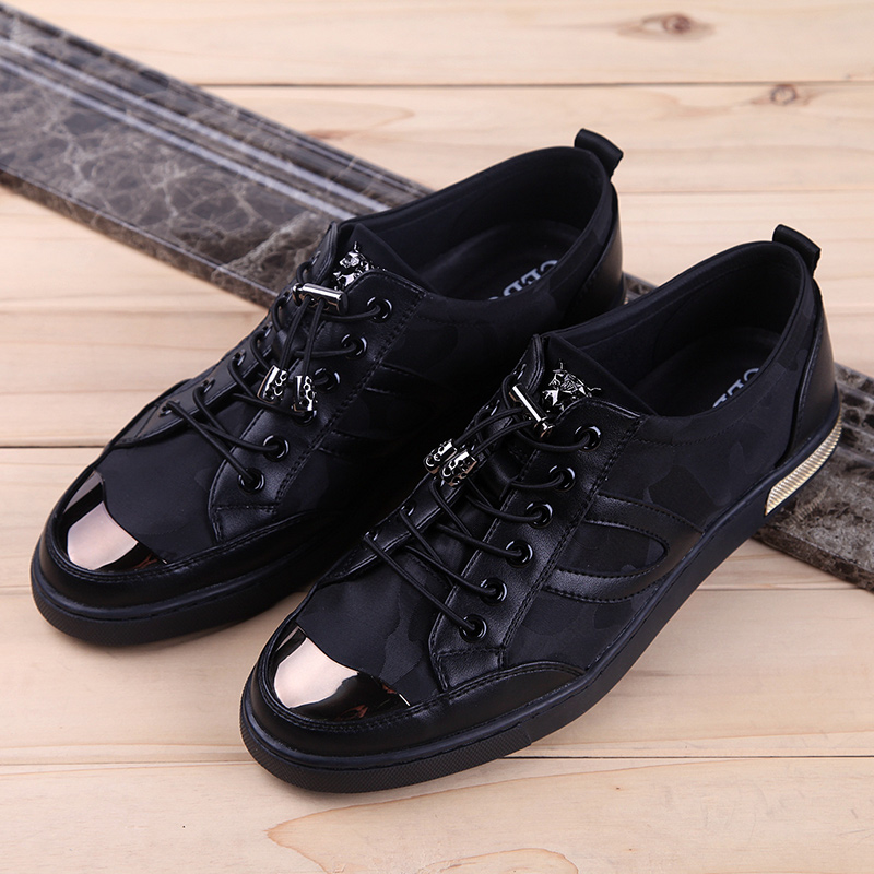 ФОТО The new spring 2016 men casual shoes  shoes Korean version of popular fashion trends to help low round