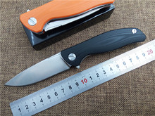 Quality folding knife D2 blade outdoor tactical knife G10 handle EDC Flipper pocket knife high quality hand tool