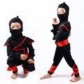 2016 Новый Ninja Костюм Halloween Party Костюм Дети Мальчики Девочки Доры Сценический Костюм Моды Косплей Смешно Ребенка Комплект Одежды