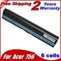 Аккумулятор для ноутбука Acer Aspire One 725 756 AL12X32 AL12A31 AL12B31 AL12B32 TravelMate B113M С7 C710 B113-M Chromebook  Серии