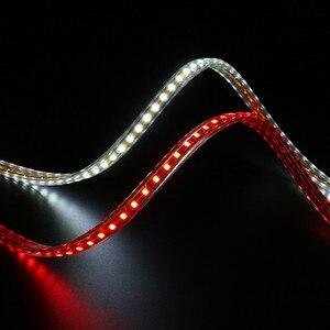 Image 2 - Commercio Allingrosso 100 M/lotto Luce di Striscia Del Led 220 240V SMD2835 120led/M Impermeabile Flessibile Fata Illuminazione Esterna Decorazione luci Al Neon