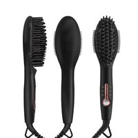 Electric Comb Hair Straightener Irons Brush for Straight Hairs Styling Tool AC 100 240V 45W AU/EU/US/UK Plug Hair Straightener
