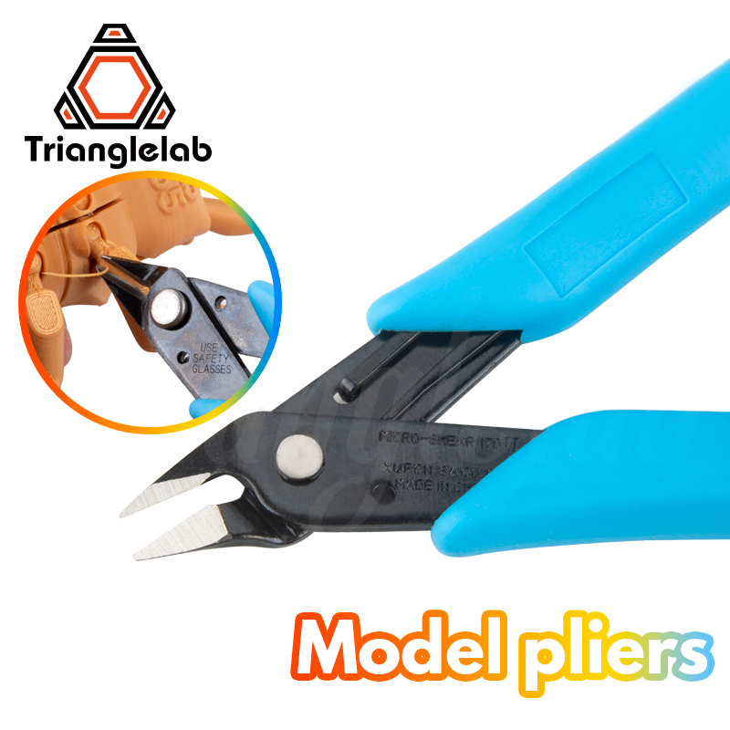 3D Print Trimmer Cutting Nippers Wire Cutter Models Grinding Tools 3D Printer DIY Manufacturing Tools