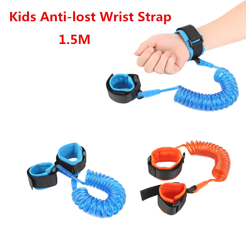1.5M Anti-lost Toddler Harness Leash Wrist Belt Baby Walking Assistant, Enfant, Baby Walking Belt Adjustable Strap