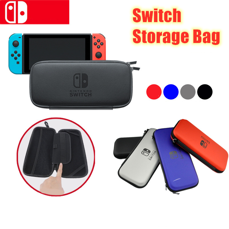4 Colors EVA Hard Storage Case Cover For Nintend Switch Protective Bag for Game Consoles Switch Storage Bag