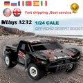ET Хобби RC Автомобилей Wltoys A232 Электрический Rc Автомобилей 4WD 35 КМ/Ч Monster Truck Rc Высокая Скорость Управления Off-Road Buggy Хобби RC Автомобилей Toys