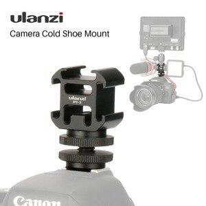 Image 1 - Ulanzi Triple 3 Fredda Shoe Mount Sulla Macchina Fotografica Shoe Mount Supporto BY MM1 Microfono Video Luce del LED per DSLR Nikon Canon