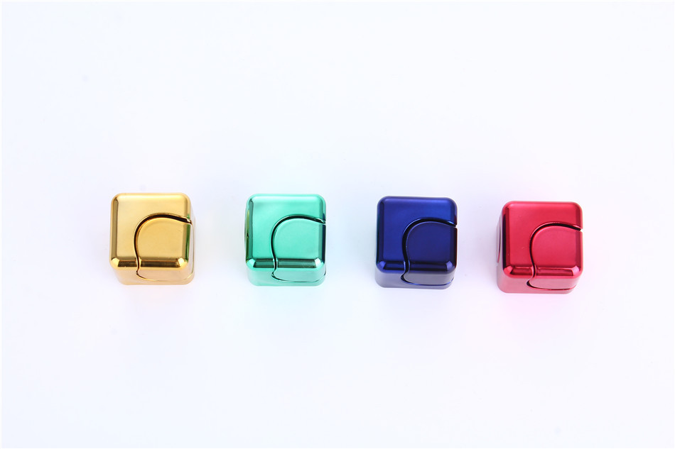 Fidget Cube Spinner Hand Metal Toy Aluminium 2017 New Cool Spinners Stress Color Spiner Black Gold In From Toys