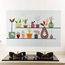 Самоклеющиеся обои для кухни, маслостойкие водонепроницаемые наклейки, алюминиевая фольга для кухни, печного шкафа, наклейки s, наклейки для кухни на стены