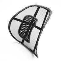 Darmowa wysyłka 2 sztuk Nowy Biurowy Samochód Siedzenia Krzesło Masaż Powrót Podparcia lędźwi Mesh Poduszka Pad Wentylować Pokrowce Talii