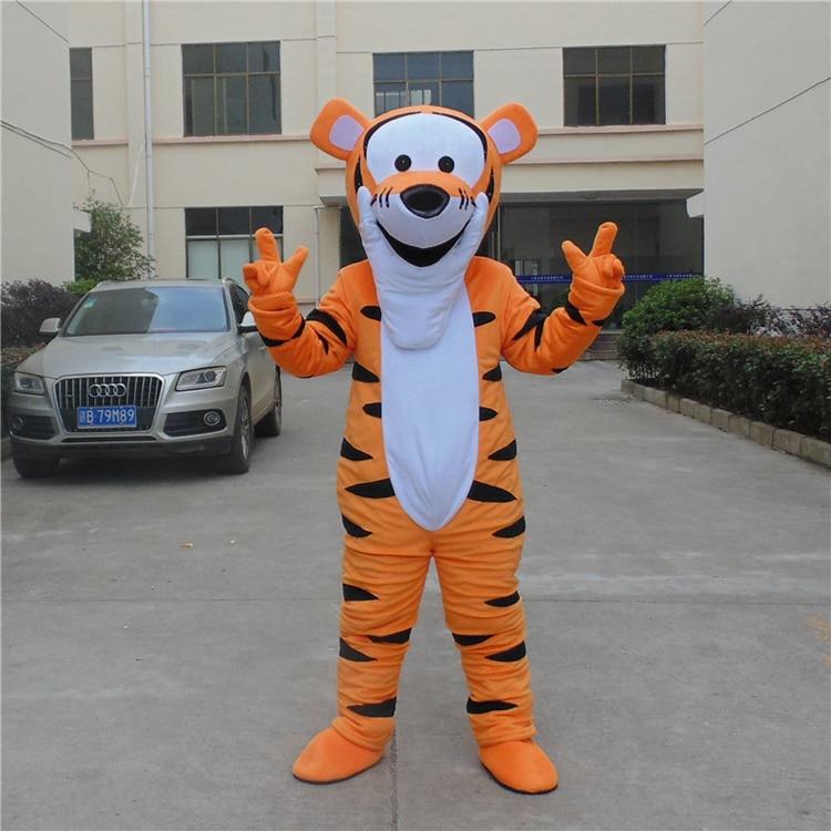 Costume de mascotte tigrou Costume de mascotte de bande dessinée personnage Costume de cosplay Costume de bande dessinée adulte taille jour de fête adulte