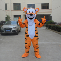 Tigger Mascot Costume Cartoon Mascot Costume Character cosplay Costume Cartoon Suit Adult size Festivel day adult