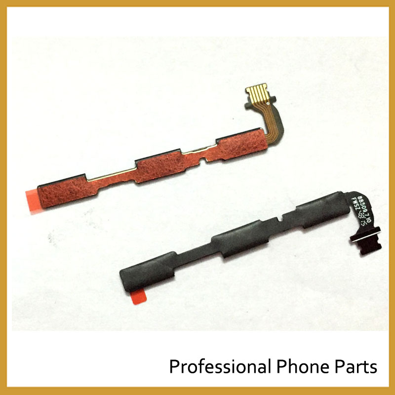 New ON OF Switch Button Flex Cable For Xiaomi Redmi 3 3s 4 4X 5 Plus Note 5 Note 4 Power Flex Cable Replacement Part