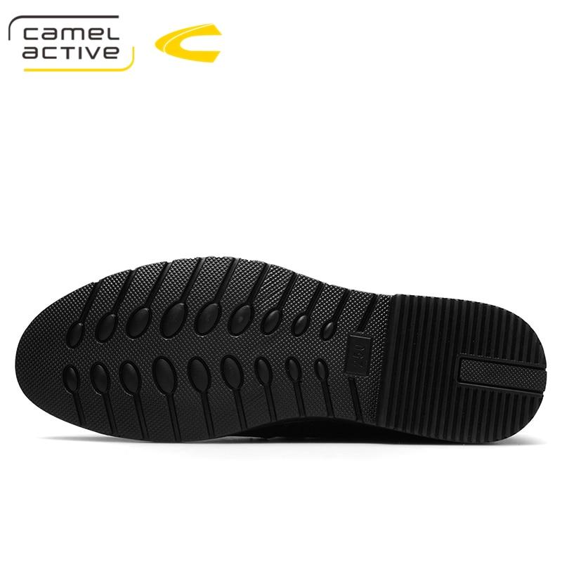 Camel Active 2019 ใหม่รองเท้าผู้ชายรองเท้าหนังแท้หนังสบายๆขับรถรองเท้า Oxfords รองเท้า Loafers ชายรองเท้ารองเท้าผู้ชาย-ใน รองเท้าลำลองของผู้ชาย จาก รองเท้า บน   2