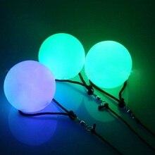Мигающий светодиодный светильник с разноцветными светящимися шариками для профессионального танца живота, вечерние водонепроницаемые украшения